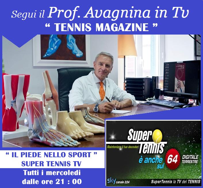 Avagnina Super tennis Tv