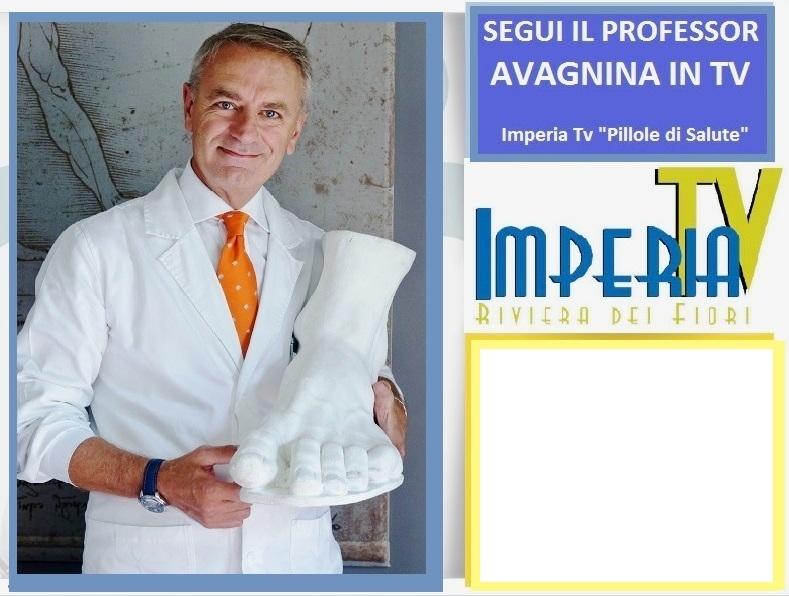Dr Avagnina Podoiatra Podologo, ospite a Pillole di Salute Imperia Tv, guarda l'intervista