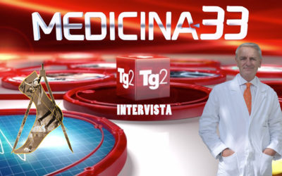 Il Professor Luca Avagnina Mercoledì 3 aprile ospite a Medicina 33 Rai 2