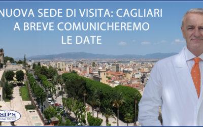New Entry tra le sedi di visita: Cagliari.